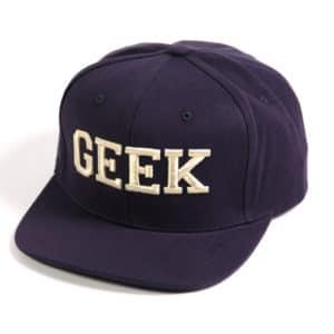 casquette geek