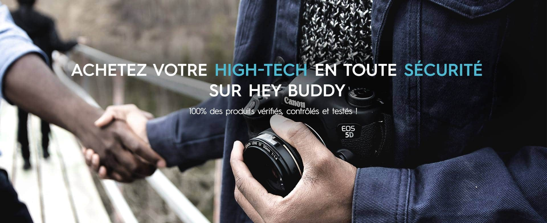 Hey Buddy : La start-up qui sécurise la vente entre particuliers !