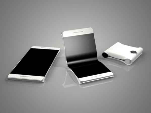 smartphone pliable - téléphone qui se plie